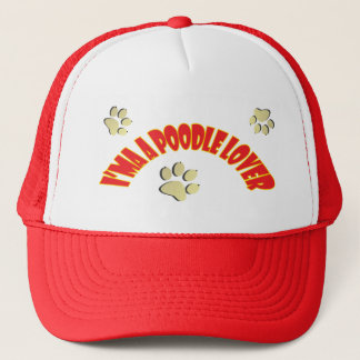 I am a Poodle Lover Trucker Hat