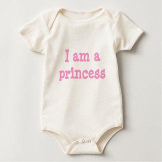 I am a princess baby bodysuit