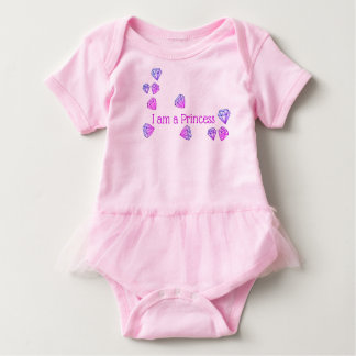 """"""" I am a Princess"""" Baby Outfit Baby Bodysuit"""