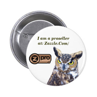 I am a Proseller_Button Pinback Buttons