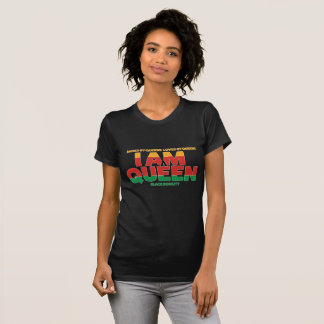 I Am A QUEEN Black Nobility T-shirt