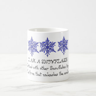 I Am A Snowflake Ceramic Mug