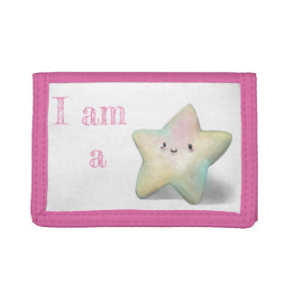 I am a Star. Tri-fold Wallets