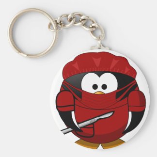 I am a Surgeon - Red Key Ring