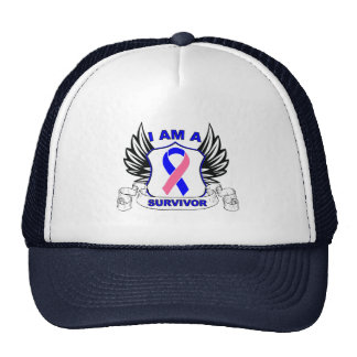 I am a Survivor - Male Breast Cancer Trucker Hat