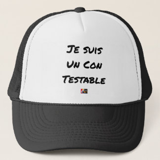 I am a Testable IDIOT - Word games Trucker Hat