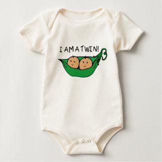 I Am A Twin Pod Baby Bodysuit