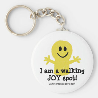 I am a Walking Joy Spot Key Ring