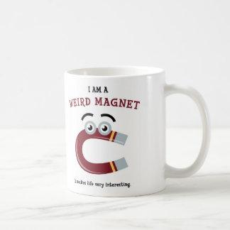 I Am a Weird Magnet Coffee Mug
