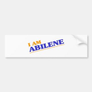 I am Abilene Bumper Sticker