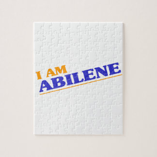 I am Abilene Jigsaw Puzzle