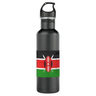 """I Am Africa"" Kenya Water Bottle"