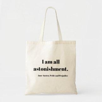 I am all astonishment! Tote