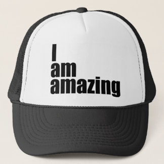 I am amazing trucker hat