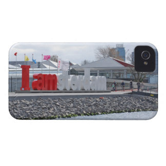 I am Amsterdam Sign, Netherlands iPhone 4 Case-Mate Case