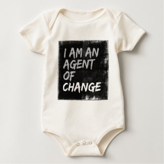 I Am An Agent of Change Baby Bodysuit
