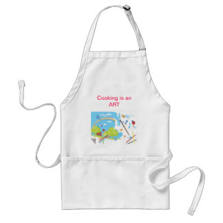 I am an artist standard apron