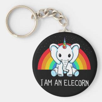I am an Elecorn Key Ring