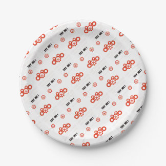 I am an engineer you can trust paper plate
