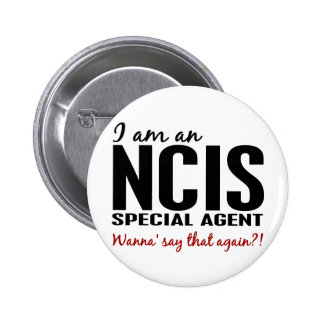 I Am An NCIS Special Agent Pins