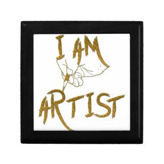 I am artist gift box