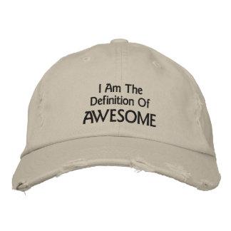 I Am Awesome Embroidered Baseball Cap