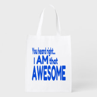 I am Awesome in Blue