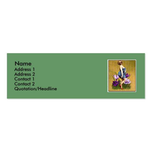 I am beautiful-2 business card template