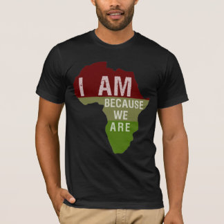 I am Because We Are - Africa Shirt