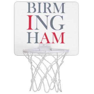 I Am Birmingham Baskeball Mini Basketball Hoop