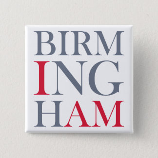 I Am Birmingham Button