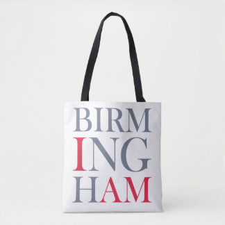 I Am Birmingham Tote Bag