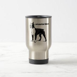 I am Boston Terrier Stainless Steel Travel Mug