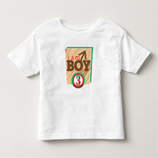 I AM BOY 3 TODDLER T-Shirt