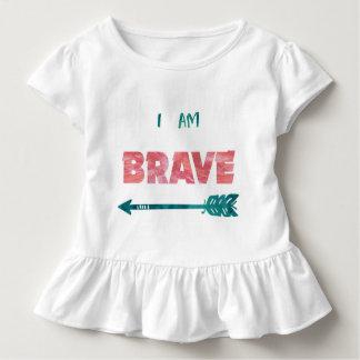 I Am Brave! Toddler Girl T-Shirt