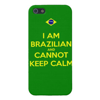 i am brazilian and i cannot keep calm case for the iPhone 5