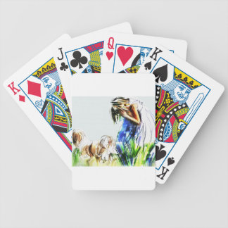 I am certain bicycle playing cards