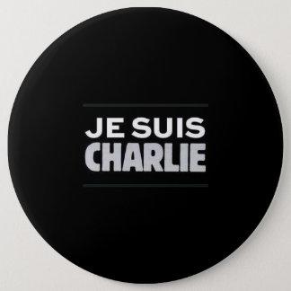 I am Charlie swipe in 6 Cm Round Badge