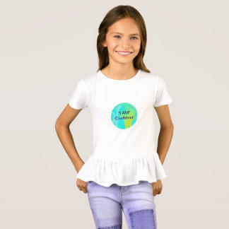 """I AM"" Confident Girls' Ruffle T-Shirt"