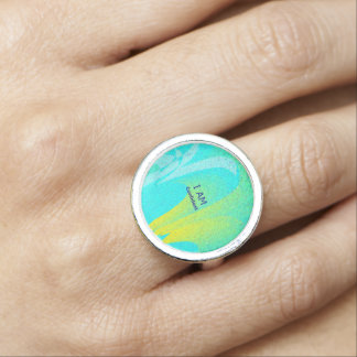 """I AM Confident"" Round Ring"