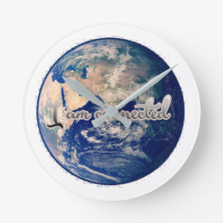 I am connected earth clock
