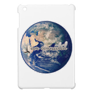 I am connected earth ipad cover