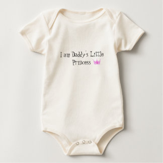 I am Daddy's Little Princess baby T Baby Bodysuit