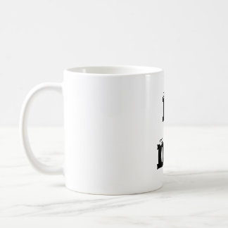 I AM DEAF! Classic Mug, left handed Coffee Mug