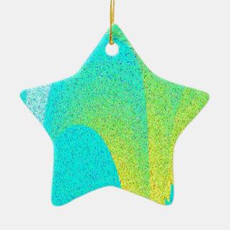 """I AM"" Design Ceramic Star Decoration"