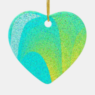 """I AM"" Design Ceramic Heart Decoration"