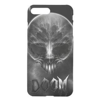 I Am Doom Fractal Skull iPhone 8 Plus/7 Plus Case