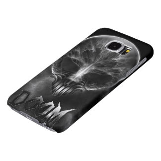 I Am Doom Fractal Skull Samsung Galaxy S6 Cases
