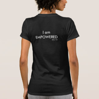I am Empowered Acts 1:8 Women's Short Sleeve Shirt