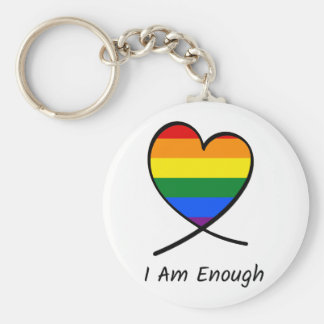 I Am Enough Key Ring